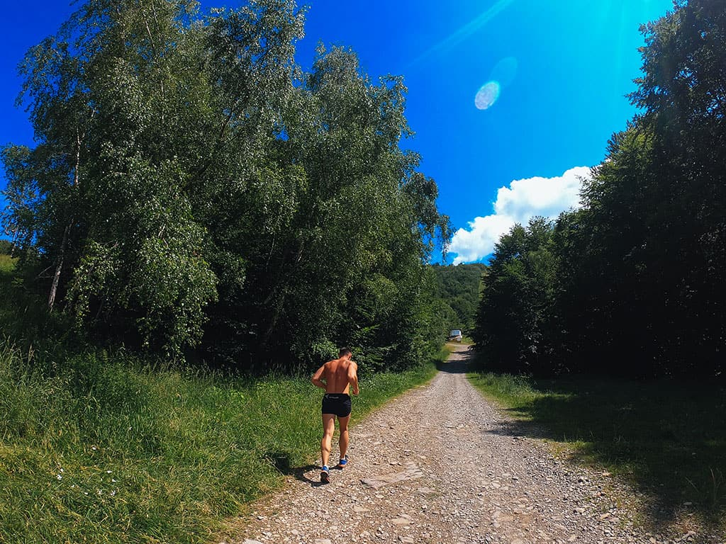Build Legs and Calves with Trail Run