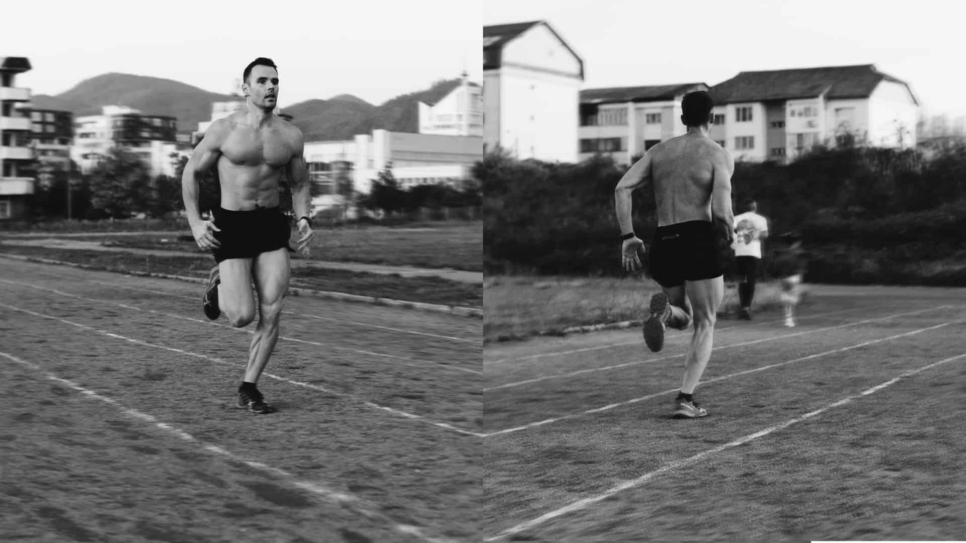 Jason Statham does sprints