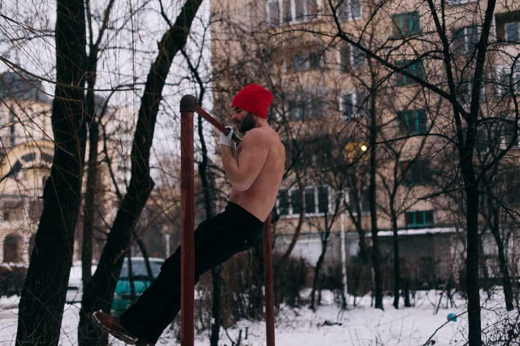 training outdoor winter