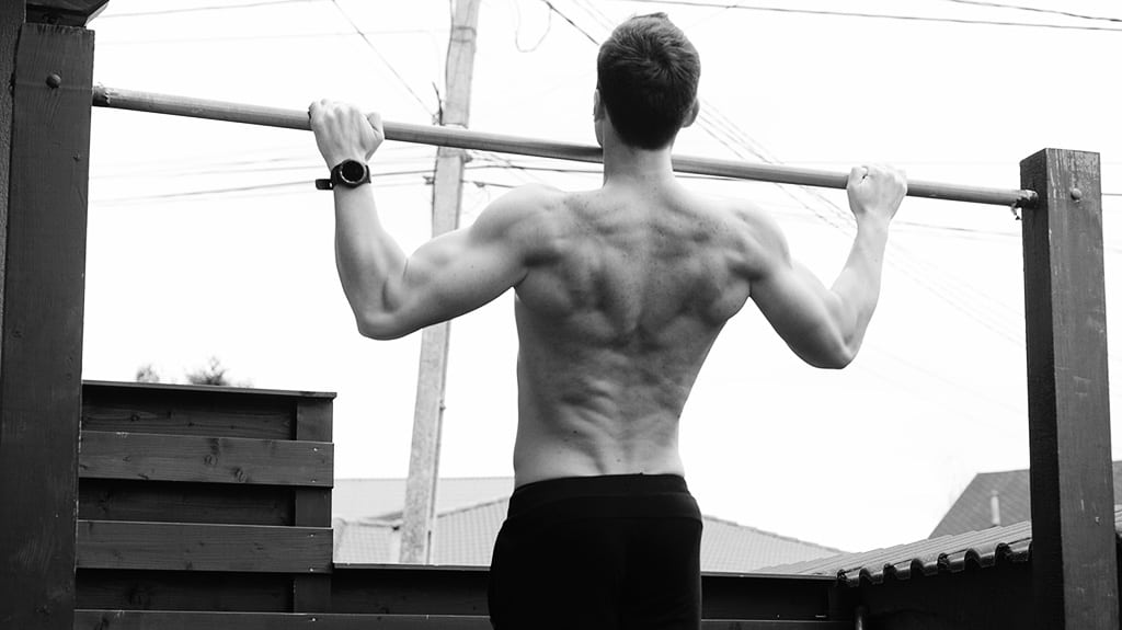 Wide Grip Pull-Ups for Back and Biceps