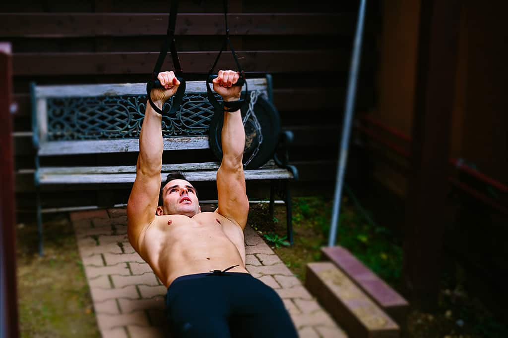 Home Bicep Workout with Suspension Trainer